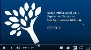 WASC site application conference slide