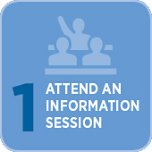Step1. Attend an Information Session