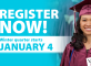 General registration for winter starts Dec. 1. Start planning now!
