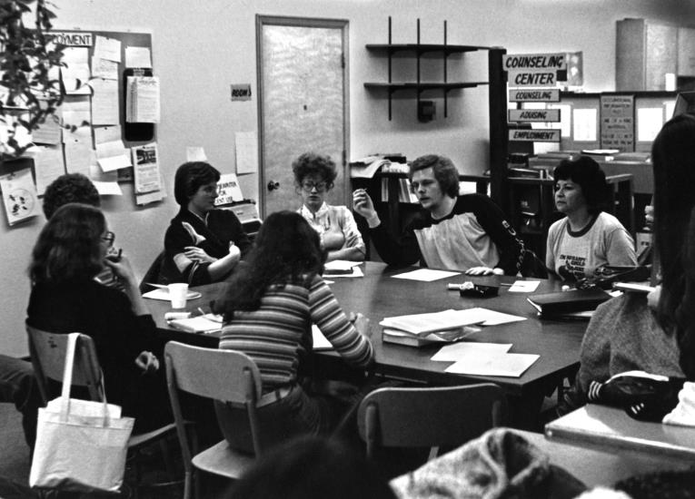 Horizon newspaper editors. The first edition was published in February 1977 and offered as a class the following winter.