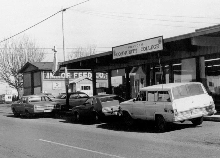 In August 1972, the College expanded its Ferndale location to 880 Third St, the former Imhoff's Feed and Garden Store