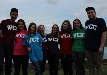 Scotland group WCC t-shirts
