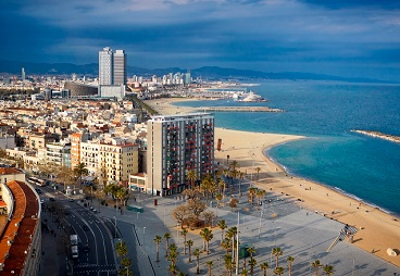 Barcelona-beach-button