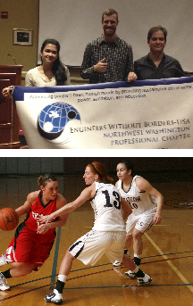 Engineers without borders photo, Women's basketball photo