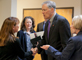 Governor Inslee touring CIS buiding icon