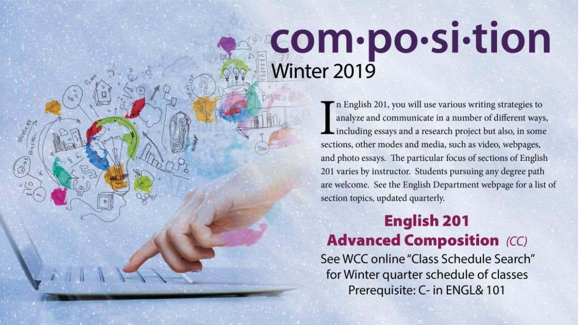ENGL201 - Advanced Composition