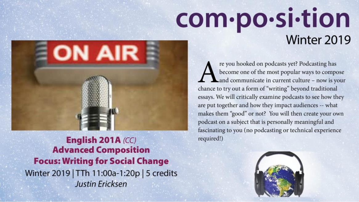 ENGL201A - Advanced Composition