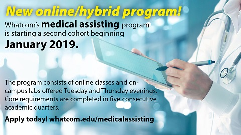 New - medical assisting online/hybrid program