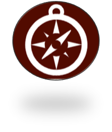 self awareness icon compass