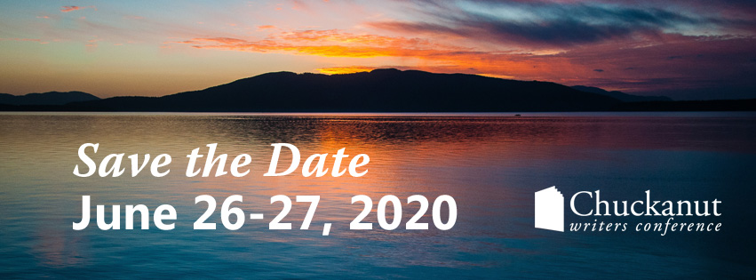 Save the Date Chuckanut Writers Conference June 26-27, 2020