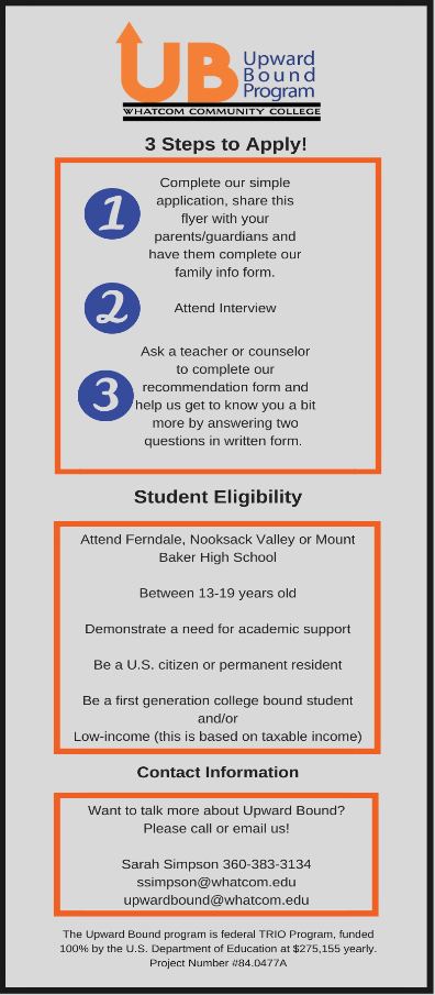 Upward Bound Brochure Part 2