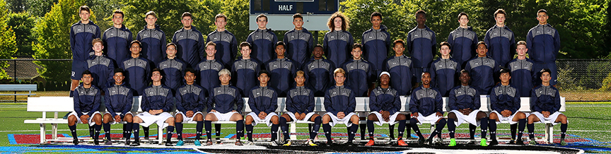 2017 Men's Soccer Team group photo
